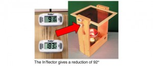 92 degree heat reduction